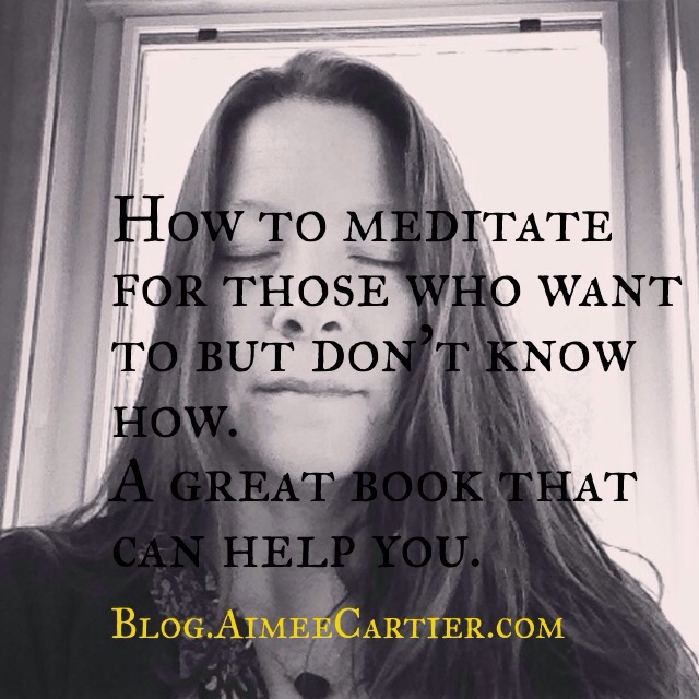 Aimee Cartier Blog a book for Meditation